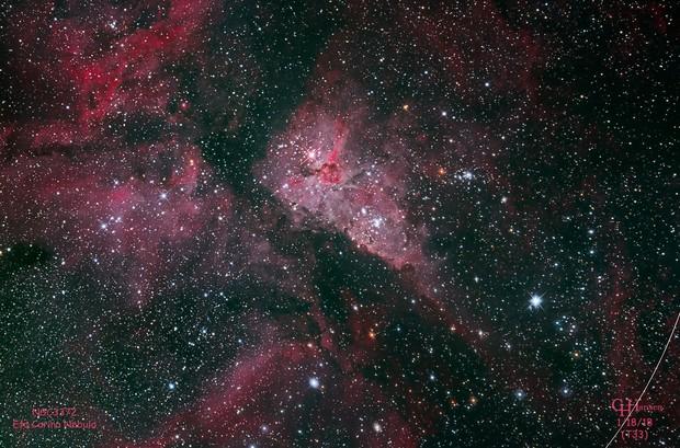 NGC3372 Eta Carina Nebula