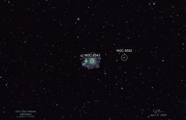 NGC6543 - Cat's Eye Nebula