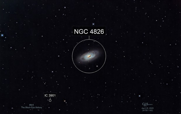 M64 - The Black Eye Galaxy