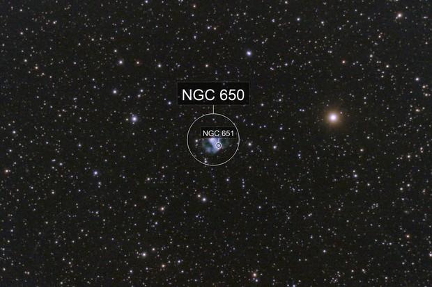 The Little Dumbbell Nebula, M76