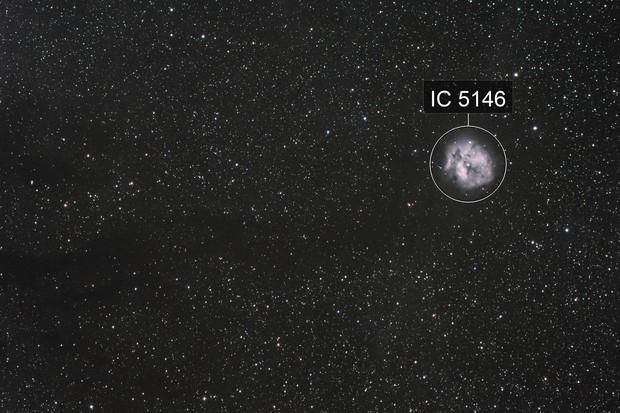 IC 5146, Caldwell 19, SH2-125, The Cocoon Nebula