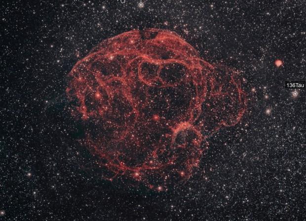 The Spaghetti Nebula, Simeis 147, SH2-240