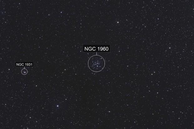The Pinwheel Cluster, M36 (NGC 1960)