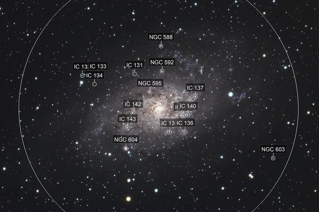 The Triangulum Galaxy, M33