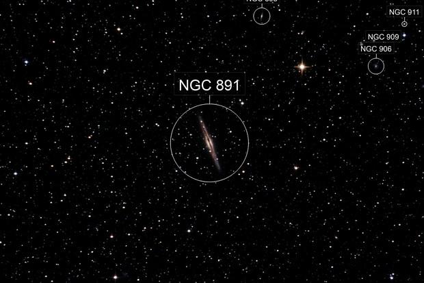 Galaxy NGC 891 (Caldwell 23)