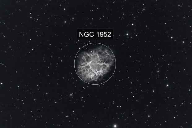 The Crab Nebula, M1 (NGC 1952)