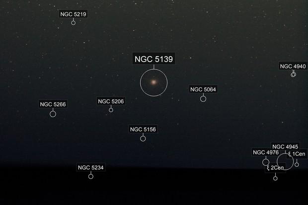 Omega Centauri, NCG 5139, Caldwell 80