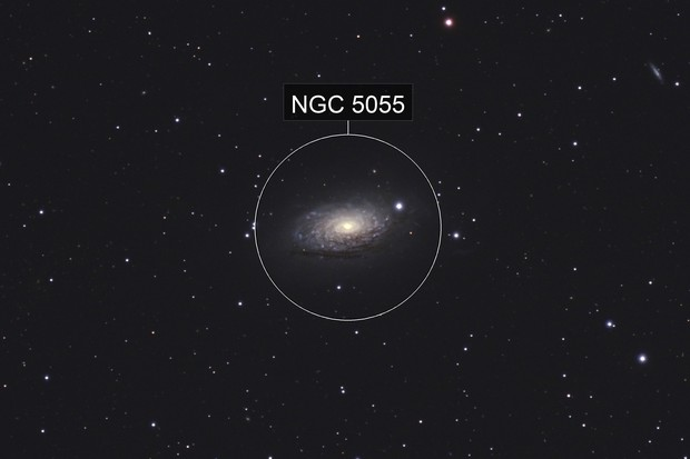 The Sunflower Galaxy, M63 (NGC 5055)