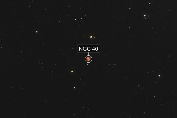 NGC 40, The Bow-tie Nebula