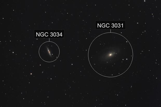 M81-M82, First Light for C6 HyperStar
