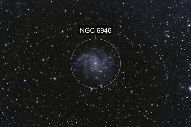 The Fireworks Galaxy, NGC6946