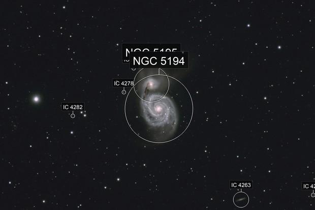 The Whirlpool Galaxy, M51 (NGC 5194)