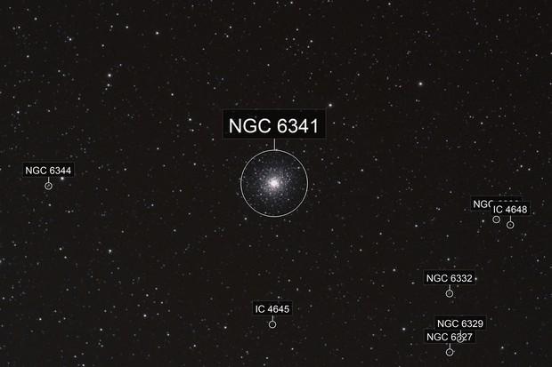 Globular Cluster, M92