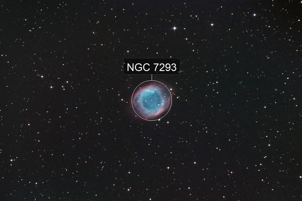 The Helix Nebula, NGC 7293, Caldwell 63