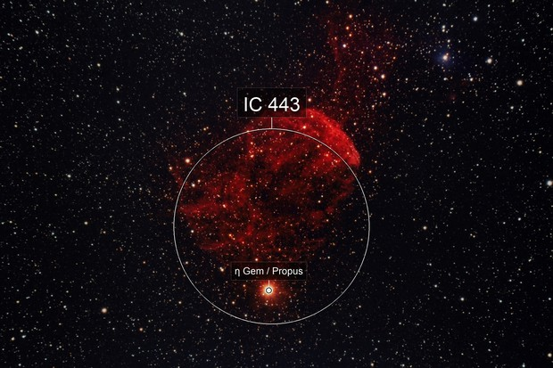 The Jellyfish Nebula, IC443