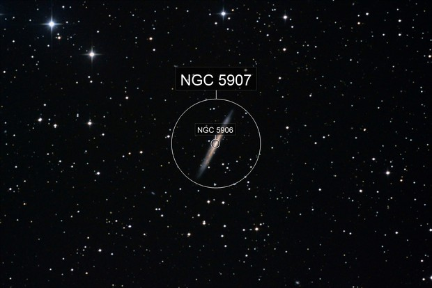 The Splinter galaxy, NGC 5907