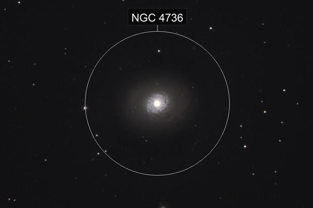 M94, (NGC 4736), The Croc's Eye Galaxy