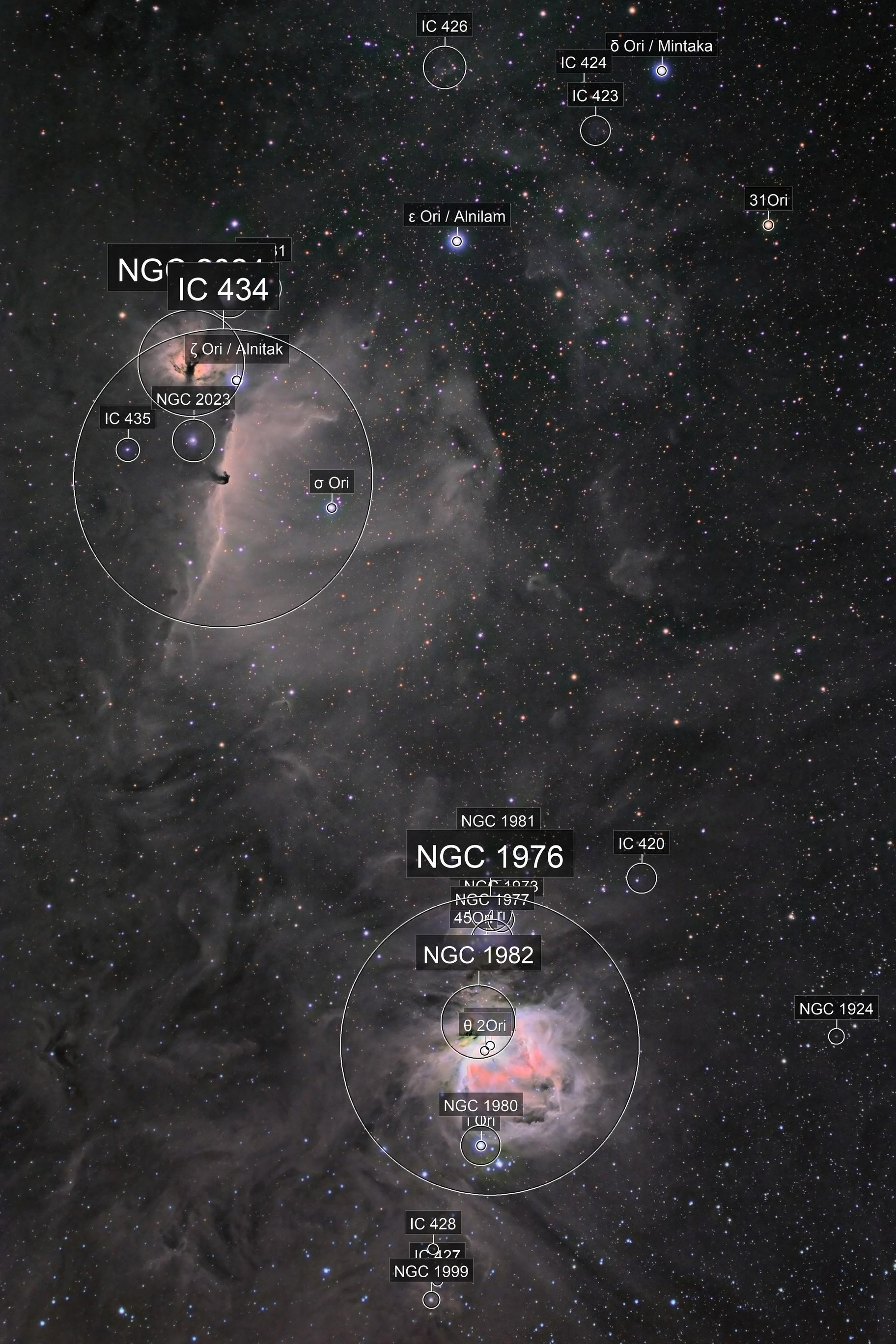Below Orion's Belt