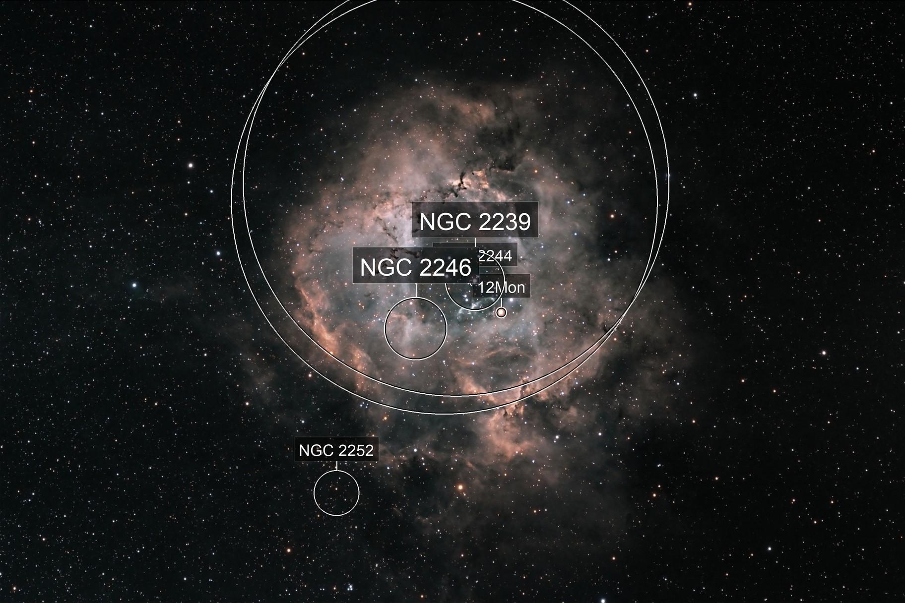 The Rosette Nebula, Caldwell 49