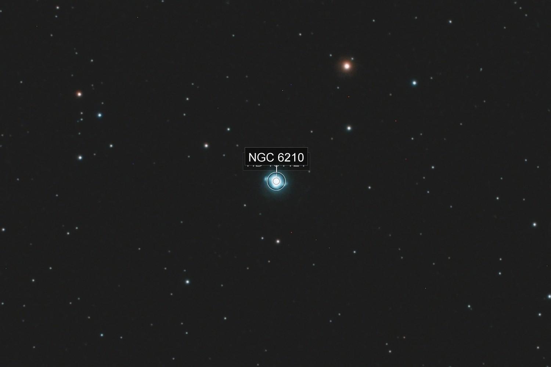 The Turtle Nebula, NGC 6210