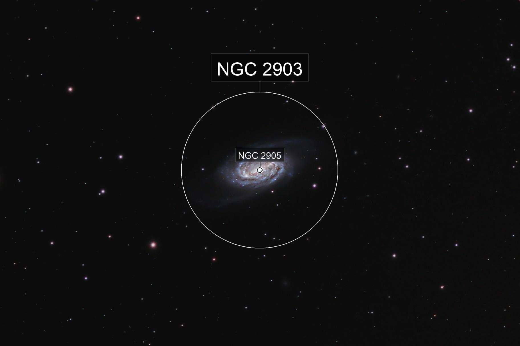 NGC 2903, the overlooked galaxy