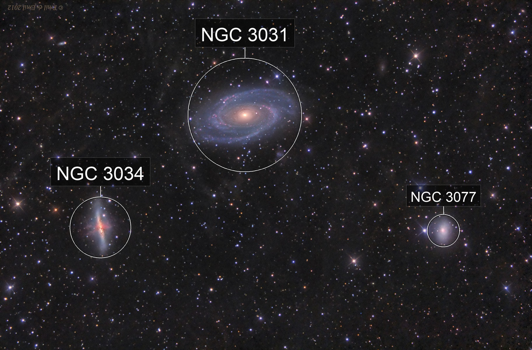 M81 Group - 47 hours