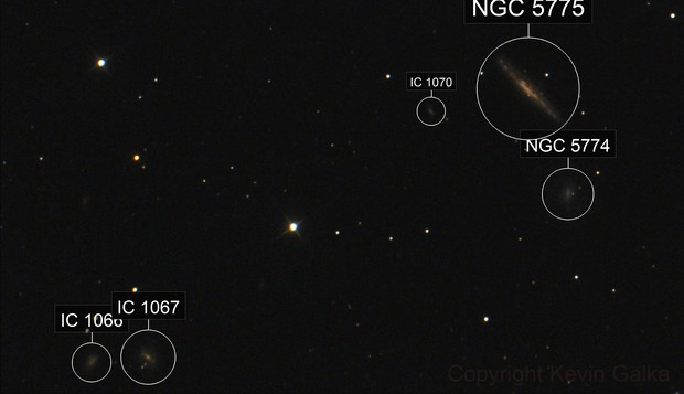 NGC 5775 and friends