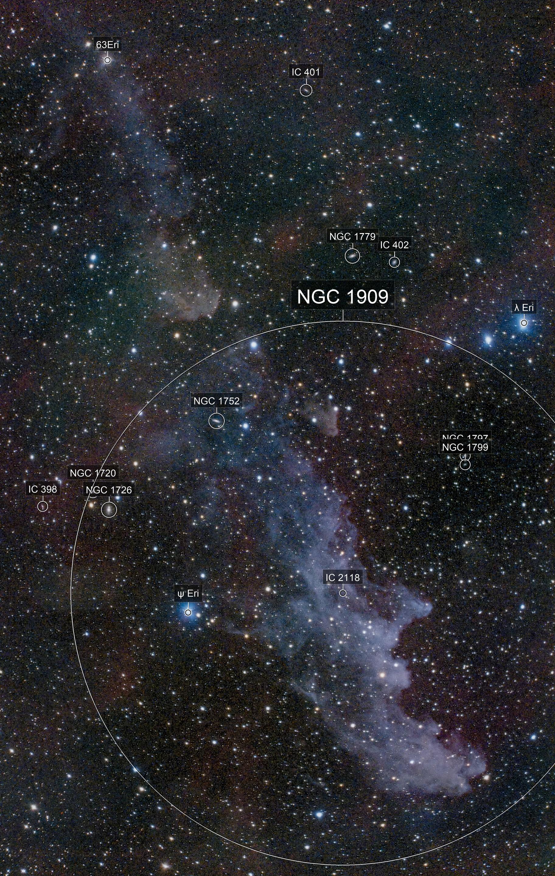 Witchhead Nebula IC2118