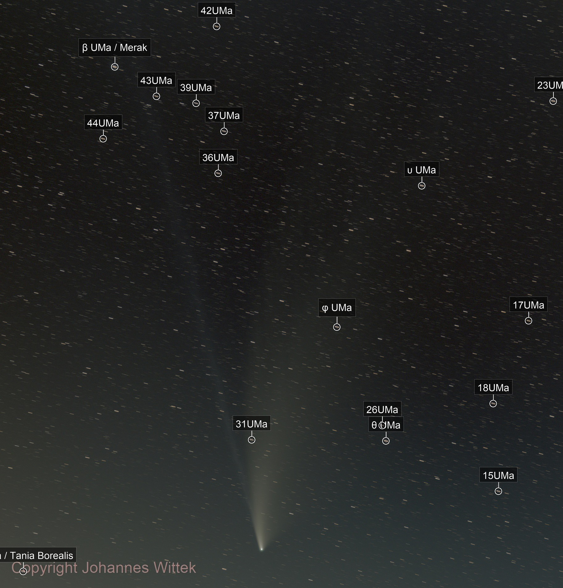 Neowise 2020-07-20/21 2nd. Edition
