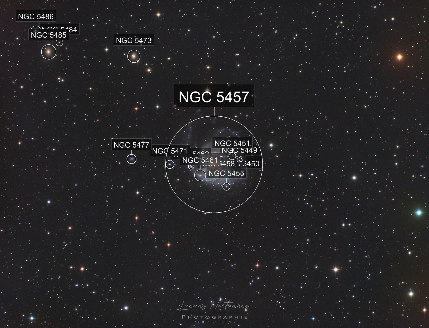 M101 Galaxie du Moulinet LRVB