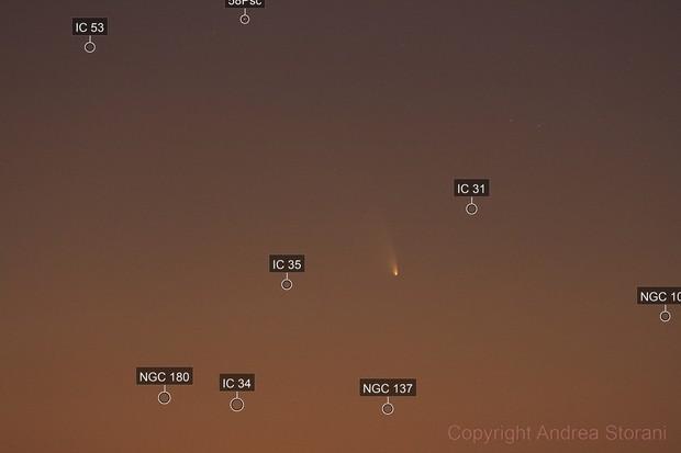 Comet C/2011 L4 Panstarrs - magnitude 0