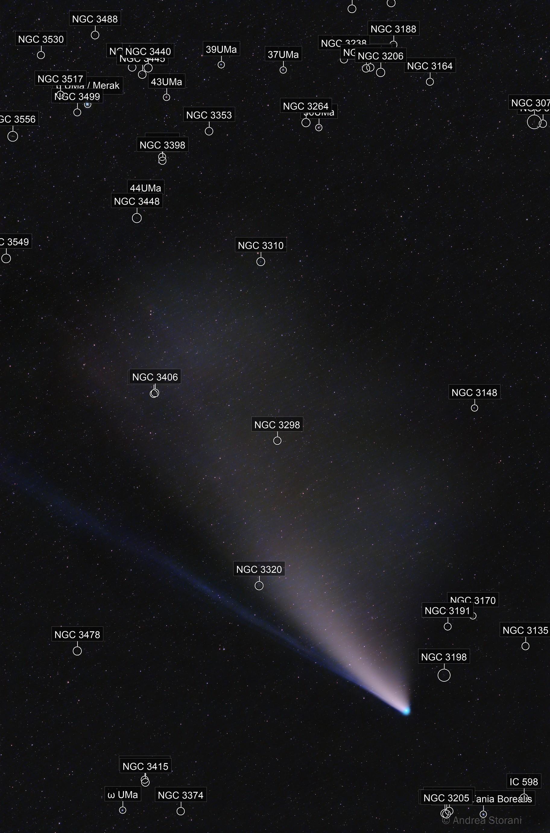 Comet C/2020 F3 NEOWISE 22/7/2020 - magnitude 3.0