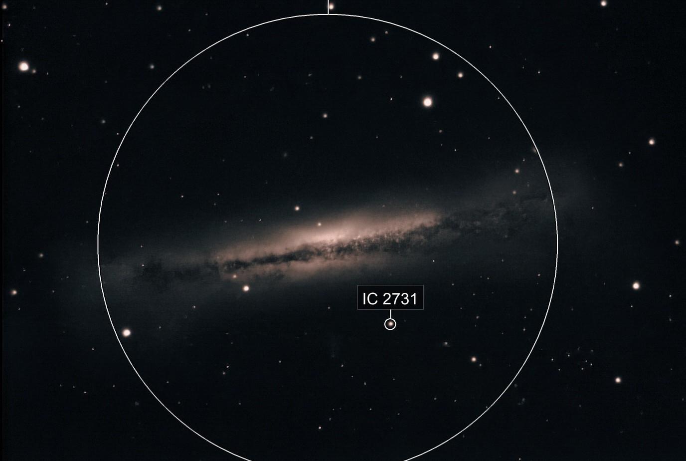 NGC 3628 1300 5 sec Subs