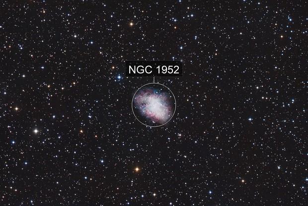 Supernova Remnant Messier 1