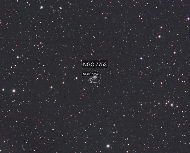 NGC 7753 - The Cosmic Comma?