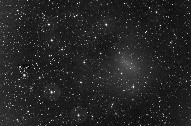 ASASSN (C2017/01) and IC 391