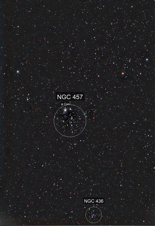 NGC 457 Owl Cluster
