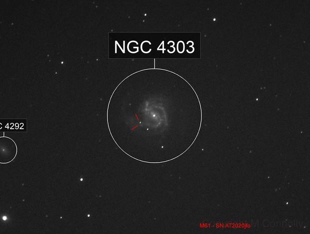 SN AT 2020jfo  M61 Supernova