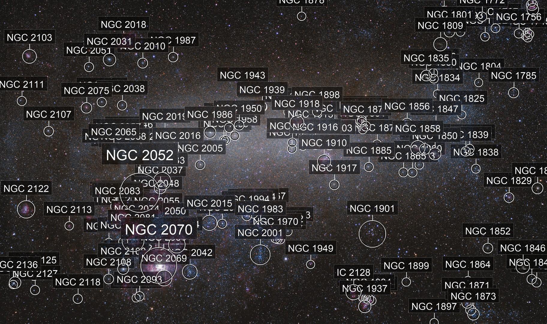 Large Magellanic Cloud & Tarantula Nebula