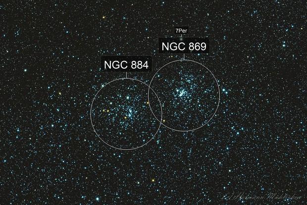 NGC 869 und 884