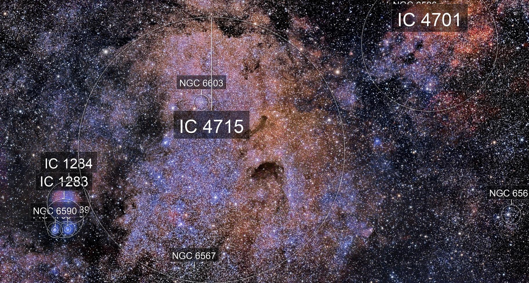 Small Sagittarius Star Cloud - M24
