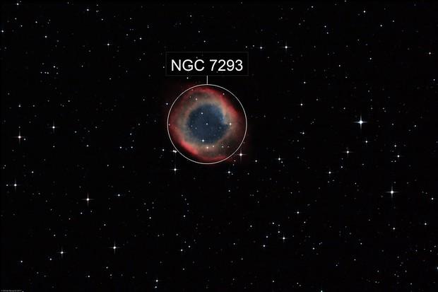 NGC 7293 - The Helix Nebula (L-RGB)