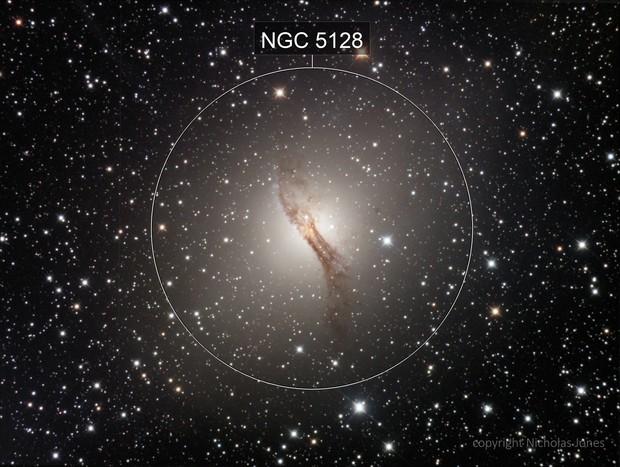 Centaurus A galaxy - NGC5128
