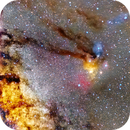Rho Ophiuchi cloud complex wide field,                                Mohamed Usama Ismail