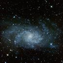 M33 - Triangulum Galaxy,                                  Gendra