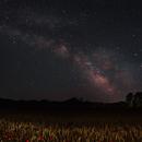 Harvest season & Milky way,                                J_Pelaez_aab