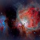 M42 Orion Nebula,                                Chester Li