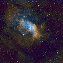 The Bubble Nebula,                                Anca Popa