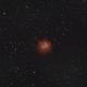NGC1624 open cluster and nebula,                                Janos Barabas