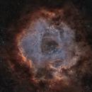 Rosette Nebula SHO+RGB star,                                  Ola Skarpen